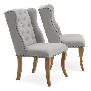 Reviews Jasper Upholstered Dining Chair (Set of 2) by One Allium Way Reviews (2019) & Buyer's Guide