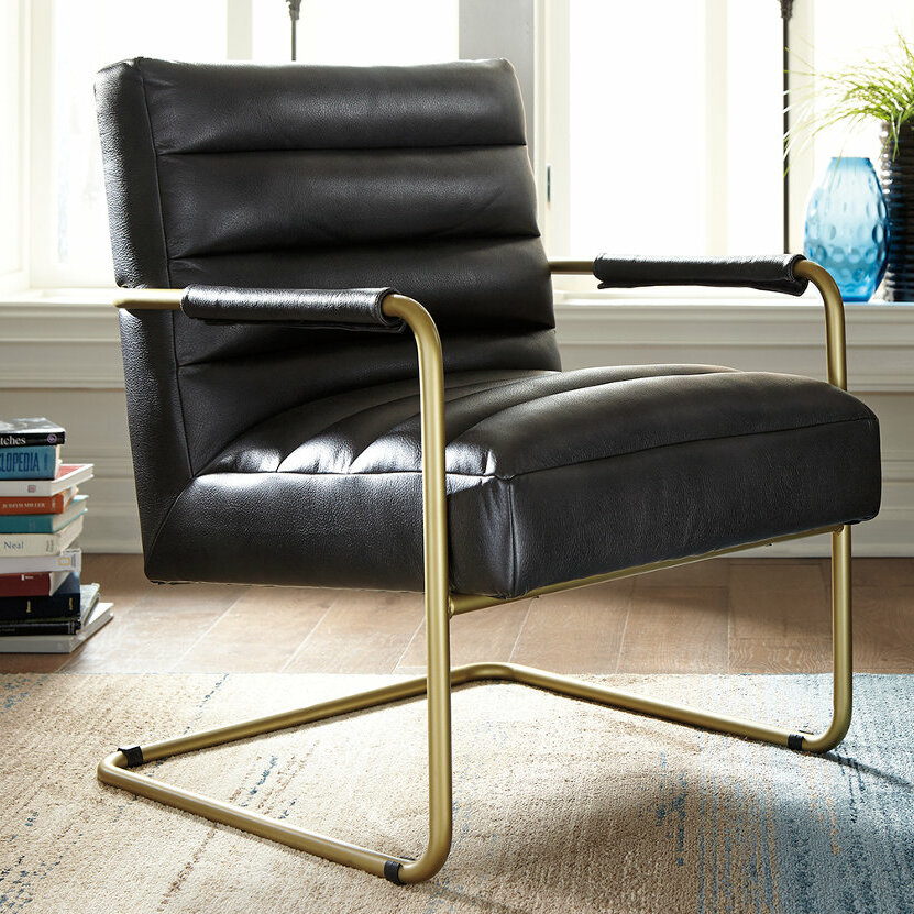 Ashley Axiom Leather Chair Wayfairca