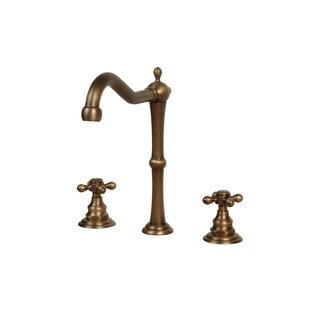 Legion Furniture Widespread Bathroom Faucet with Double Cross Handles