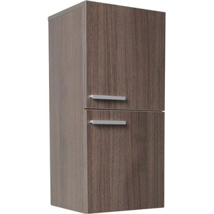 Guide to buy Senza 12.63 W x 27.5 H Wall Mounted Cabinet By Fresca