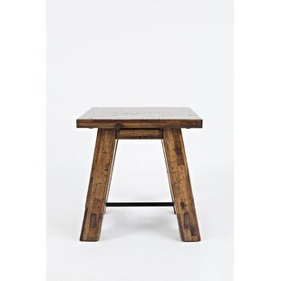 Jayson Transitional End Table by Millwood Pines