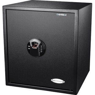 Biometric Keypad Security Safe with Electronic and Key Lock by Barska