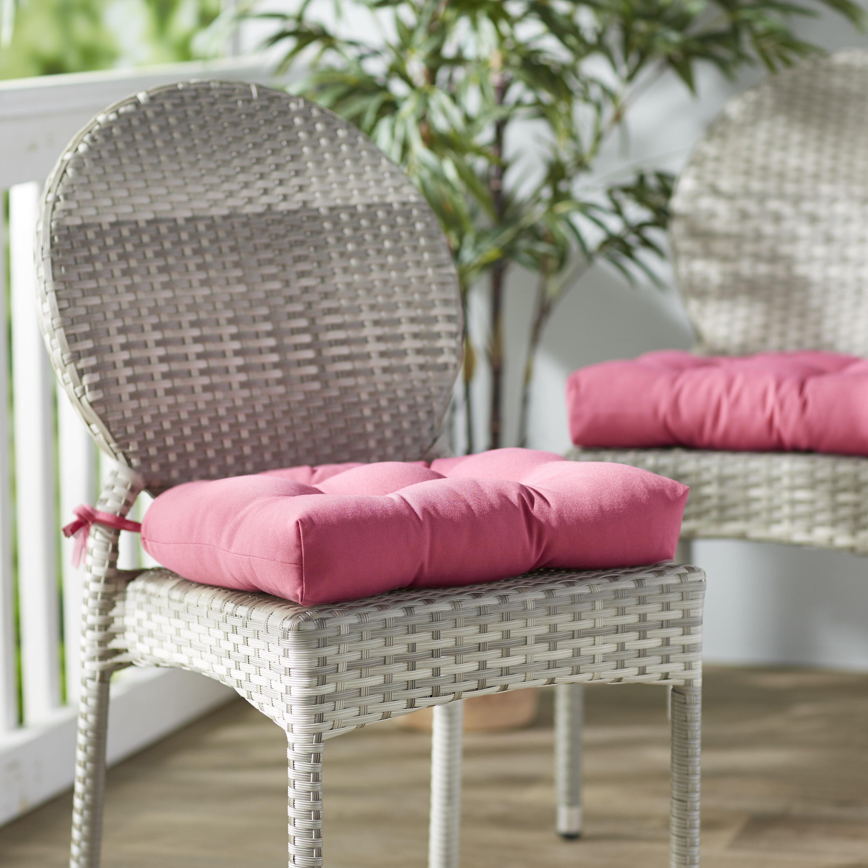 Dining Chair Patio Furniture Cushions You Ll Love In 2021 Wayfair