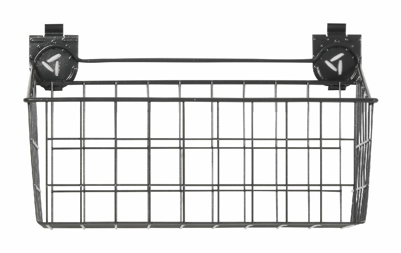 Gladiator Wire Basket Garage Storage Slatwall Bins & Baskets | Wayfair