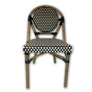 French Cafe Bistro Patio Dining Chair  sc 1 st  Wayfair : french rattan chairs - Cheerinfomania.Com