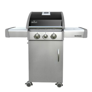 Triumph 3-Burner Propane Gas Grill with Cabinet