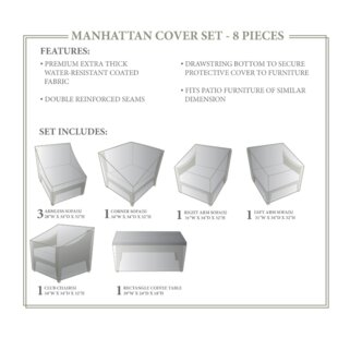 TK Classics Manhattan Winter 8 Piece Cove..