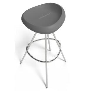 Ebern Designs Grey Seat Bar Stools