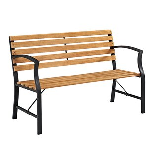 Greyson Outdoor Steel Garden Bench by Gracie Oaks Wonderful