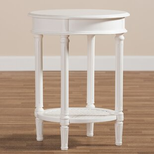 Mandy Wooden End Table by One Allium Way