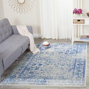 Sebring Gray/Blue Area Rug