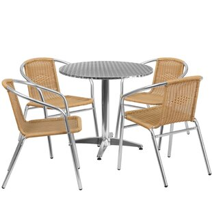 Red Barrel Studio Eilers 5 Piece Bistro Set