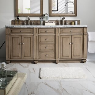 Lambrecht 72 Double Bathroom Vanity Base by Alcott Hill