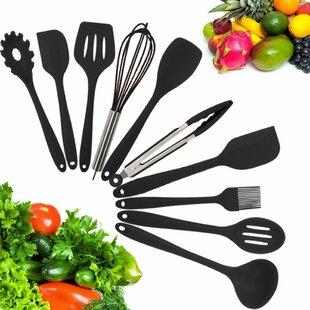 10 Piece Silicone Kitchen Utensil Set