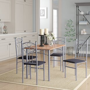 Turnalar 5 Piece Dining Set