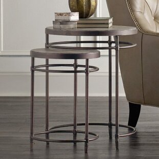 St. Armand 2 Piece Nesting Tables by Hook..
