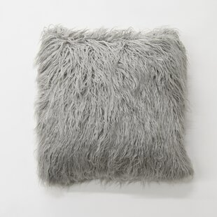 Robichaud Faux Fur Throw Pillow