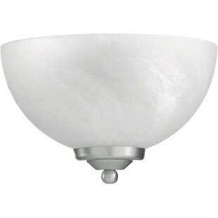 Compare prices Hemisphere 1-Light Wall Sconce By Quorum