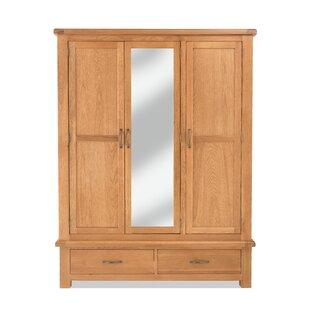 Peter 3 Door Wardrobe By Gracie Oaks