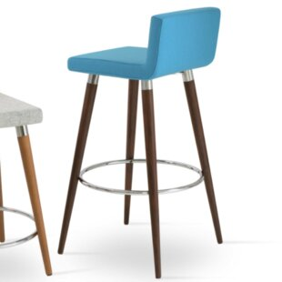 Harlowe Wood 29 Bar Stool by Comm Office