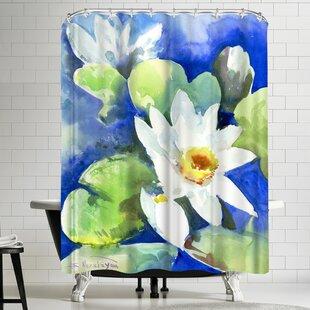 Suren Nersisyan Lotuses 2 Single Shower Curtain
