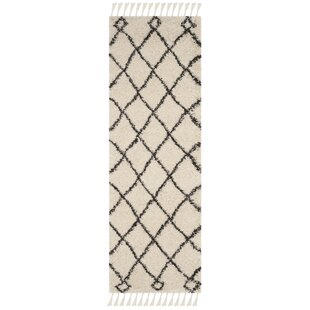 Hester Beige/Black Area Rug by Bungalow Rose