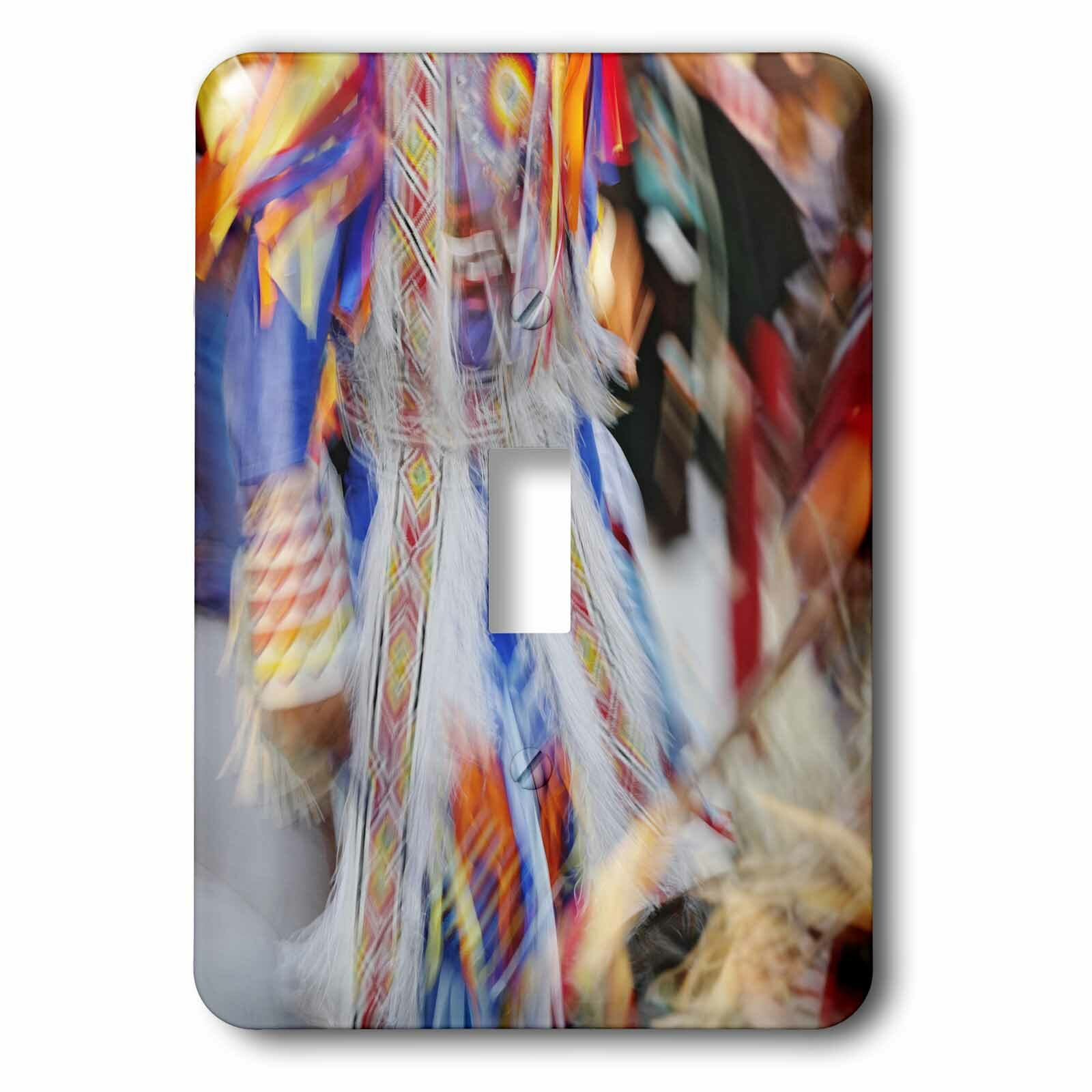 3drose Native American Indian Dance Montana 1 Gang Toggle Light Switch Wall Plate Wayfair