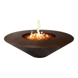 The Outdoor Plus Julius Round Copper Fire..