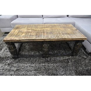 Slattery Coffee Table with Tray Top