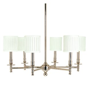 Darby Home Co Amoll 6-Light Shaded Chandelier