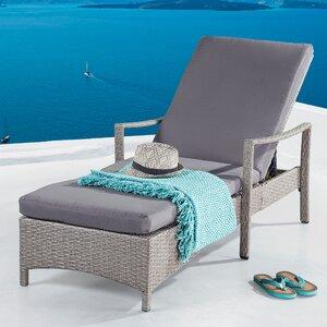 Sata Sun Lounger with Cushion