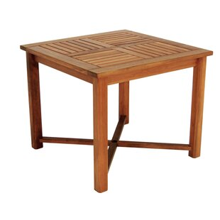 Friar Solid Wood Dining Table by Whitecap Industries