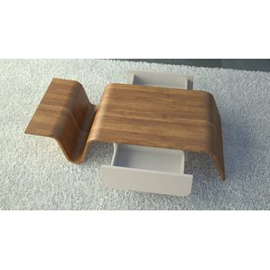 Arnau Coffee Table with Magazine Rack by At Home USA