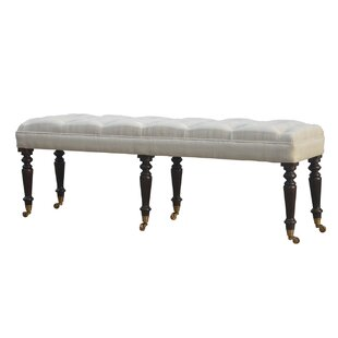 Galatee Upholstered Bedroom Bench by DarHome Co Top Reviews
