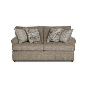 Dolores Loveseat by Simmons Upholstery by Alcott Hill