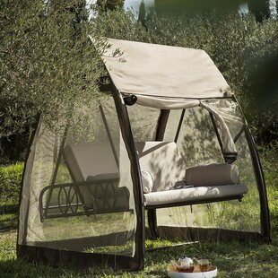 Freeport Park Speer Porch Swing Hanging Chaise Lounger with Stand
