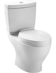 Toto Aquia Dual-Flush Elongated Two-Piece..