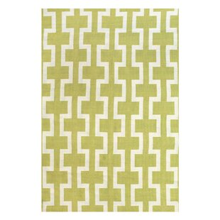 Sargasso Hand Woven Yellow Indoor/Outdoor Area Rug