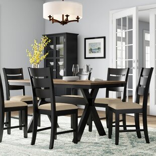 Oaklyn 7 Piece Dining Set by Winston Porter Wonderful