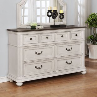 One Allium Way Alisa 6 Drawer Double Dresser