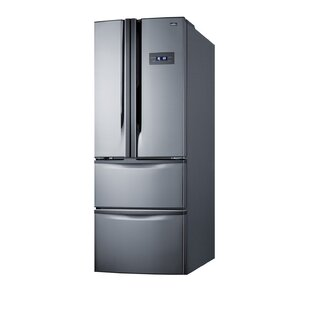13.7 cu. ft. Energy Star Counter Depth French Door Refrigerator by Summit Appliance