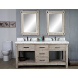 Barrios 72 Double Bathroom Vanity Set by Union Rustic