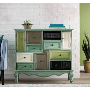 Wildon Home ® Freemanstown 9 Drawer 2 Door Accent Cabinet