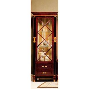 Pursel One Door Display Curio Cabinet by Astoria Grand