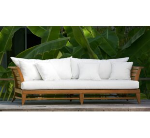 Limited Teak Patio Daybed with Cushion