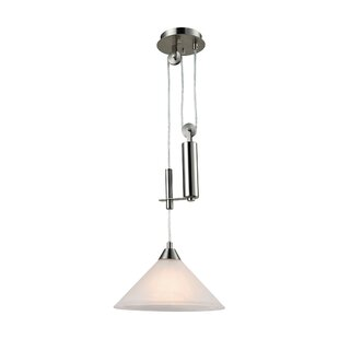 Beecroft 1-Light Cone Pendant by World Menagerie