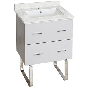 Xena Plywood-Melamine 23 Single Bathroom Vanity Base by American Imaginations