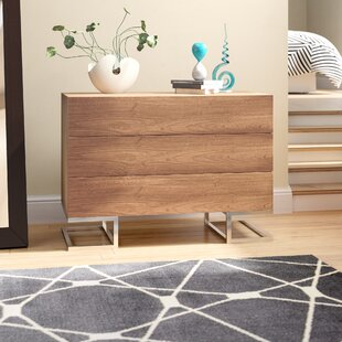 Affordable Price Domingo 3 Drawer Dresser by Wade Logan Reviews (2019) & Buyer's Guide