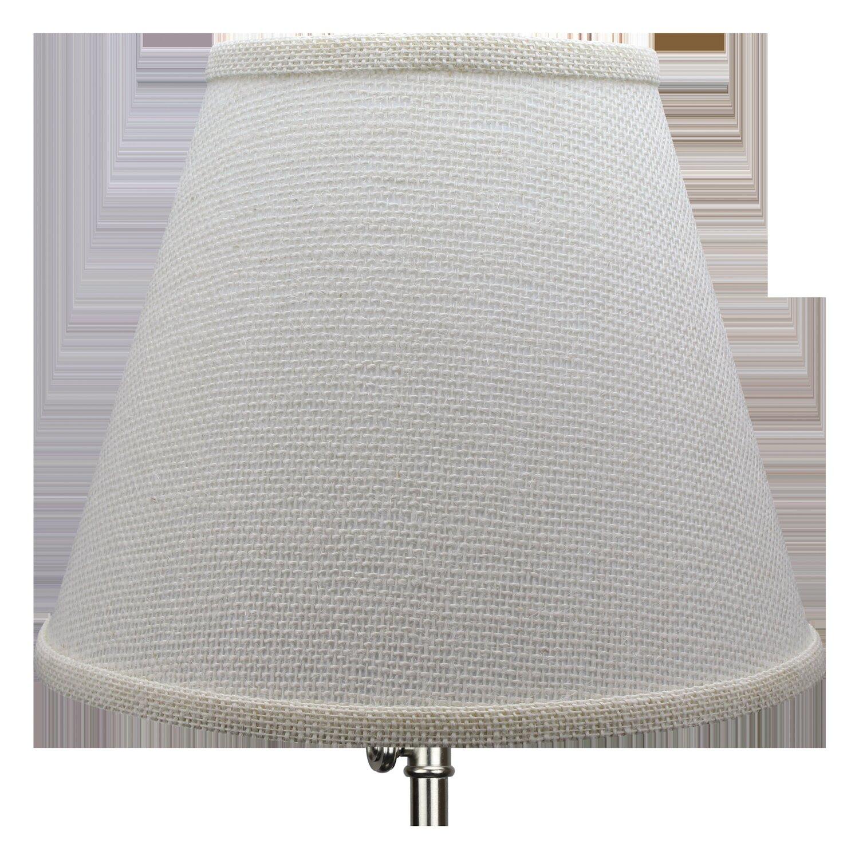 Red Barrel Studio 9 H X 11 W Linen Empire Lamp Shade Spider In Off White Wayfair