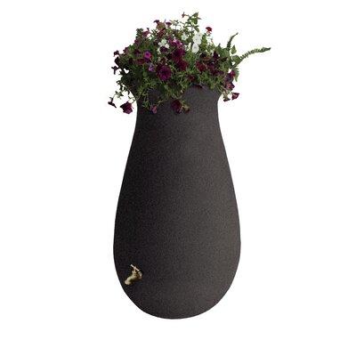 65 Gallon Rain Barrel Algreen Color: Brownstone
